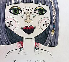 Wall-eyed girls are pretty, too by Lauren Laumbach