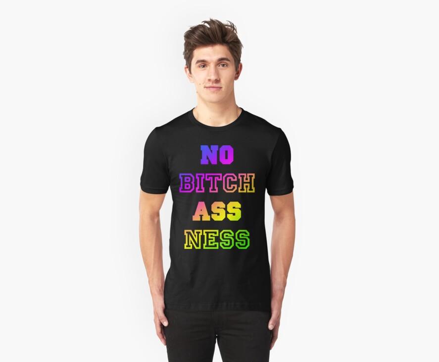 No Bitch Ass Ness by vintageham