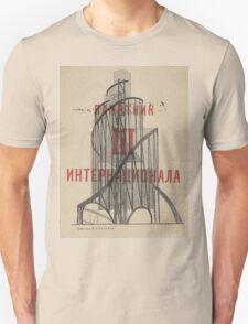 Tatlin Tower Unisex T-Shirt