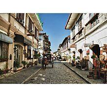 Calle Crisologo Photographic Print