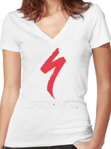 specialized Women's Fitted V-Neck T-Shirt