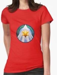 Mandala : Merkaba Womens Fitted T-Shirt