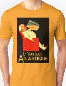 Retro French beer ad Le Bon Bock Unisex T-Shirt