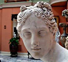 Aphrodite Turns To Tell Me A Secret.... by Jane Neill-Hancock