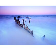 Soft Tide Photographic Print