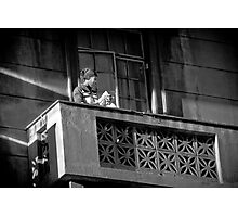 Lady by the window Photographic Print