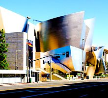 Walt Disney Concert Hall #2 by Rebecca Dru