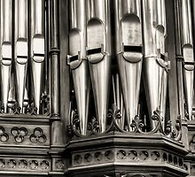 Pipe Organ Scots Church - Melbourne by Frank Moroni