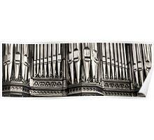 Pipe Organ Scots Church - Melbourne Poster
