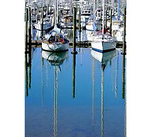 Boating Blues Photographic Print