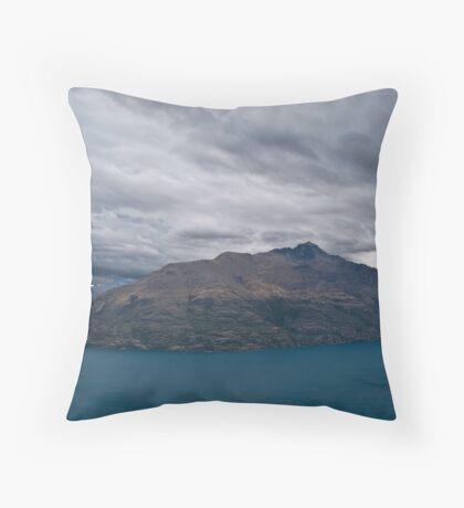 Queenstown, New Zealand - Landscape Throw Pillow