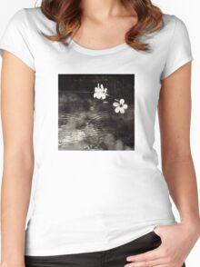Vietnam ~ Blossoms Women's Fitted Scoop T-Shirt