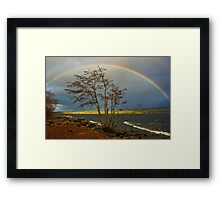 Rainbow Over Ness Framed Print