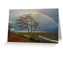 Rainbow Over Ness Greeting Card