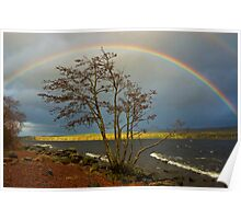 Rainbow Over Ness Poster