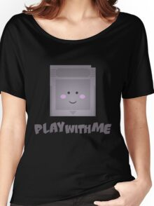 Play with me :3 Women's Relaxed Fit T-Shirt
