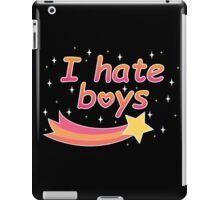 I hate boys iPad Case/Skin