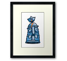 Spray Pain Can Character Framed Print