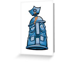 Spray Pain Can Character Greeting Card