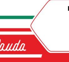 Formula 1's Niki Lauda Ferrari 312T2  Sticker