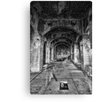 Haunted Hall Canvas Print