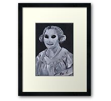 Zombie Mother Framed Print