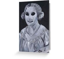 Zombie Mother Greeting Card