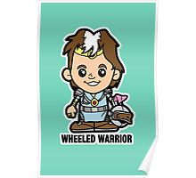 Lil Wheeled Warrior Poster