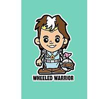 Lil Wheeled Warrior Photographic Print