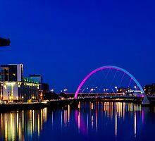 Glasgow City lights by Brian Canavan