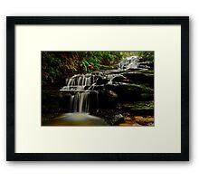 Leura Cascades. Framed Print