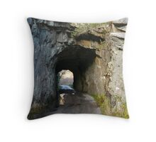 Tunnel in County Kerry Throw Pillow