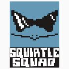 Squirtle Squad Sticker by mandoburger