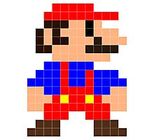 Super Mario Photographic Print