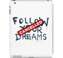 Banksy - Follow your dreams (part) iPad Case/Skin