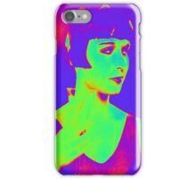 Louise Brooks pop art iPhone Case/Skin