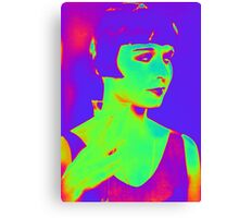 Louise Brooks pop art Canvas Print