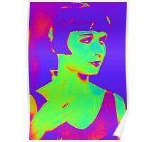 Louise Brooks pop art Poster