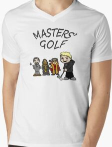 master's golf Mens V-Neck T-Shirt