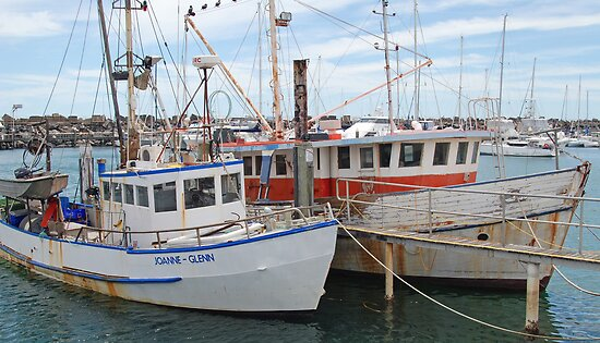 Seen Better Days, Coffs Harbour Marina, NSW by Adrian Paul