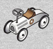 A retro vintage race cart. One Piece - Long Sleeve