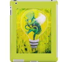The Creation of An Idea, LightBulb Baby iPad Case/Skin