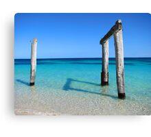 Hamelin Bay Paradise Canvas Print