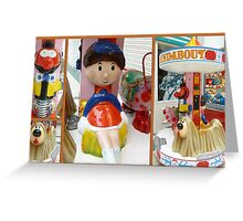The Magic Roundabout Greeting Card
