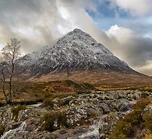 Buachaille Etive Mor ,Glen Etive,Scotland  by Fe Messenger