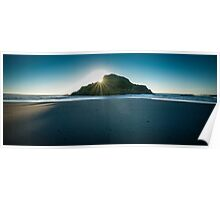 Back Beach, New Plymouth Poster