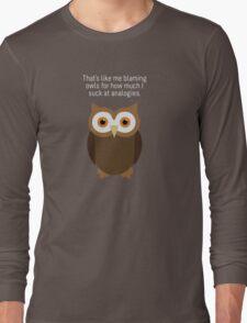 "Community: ""Analogies"" Long Sleeve T-Shirt"