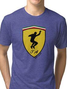 Fernando Alonso Celebration (Black Writing) Tri-blend T-Shirt