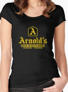 Arnold's Drive In Restaurant Women's Fitted Scoop T-Shirt