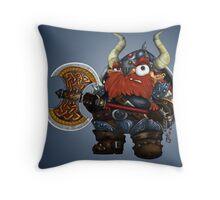 Dwarf Throw Pillow